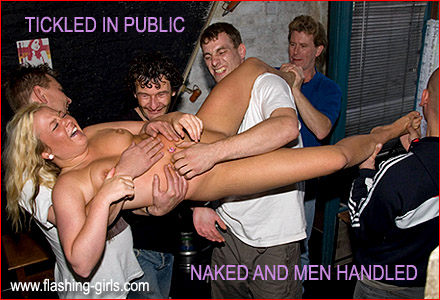 Women groping men in public